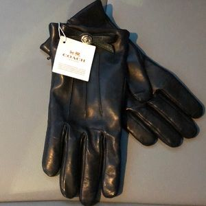Coach Leather Gloves🖤